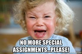 Tantrum Meme - no more special assignments please tantrum kid meme generator