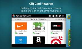 gift card reward apps perk scratch win android apps on play