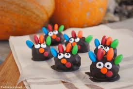 thanksgiving turkey oreo cookie balls the benson