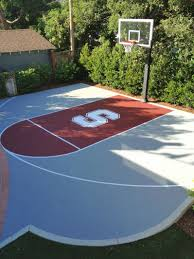 Backyard Basketball Hoops by Elegant Backyard Basketball Court Dimensions Carnival Image Loversiq