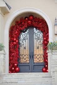 35 Christmas Tree Decoration Ideas by Door Christmas Decor Irebiz Co