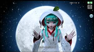 project diva arcade moon pv 雪ミク2013 youtube