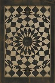 20 best vintage vinyl mats floor cloths images on