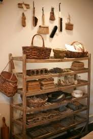 Wood Bakers Racks Furniture Wooden Bakers Rack Foter