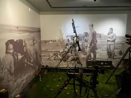 inkjet printed wall murals illustrate military history lexjet blog photo wall mural at a museum
