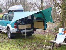 homemade 4x4 roof awnings 4x4 u0026 awnings off a roof rack suggestions and