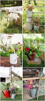 top 15 rustic country watering can wedding ideas deer pearl flowers
