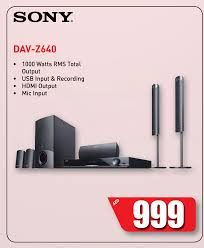 sony 1000 watts home theater sony 5 1ch dvd home theatre system model dav dz640k dsf deals