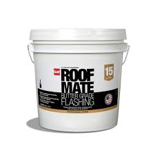 Henry 208 Wet Patch Roof Cement by Gaf 2 Gal Light Gray Roof Mate Butter Grade 890288419 The Home