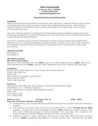 resume sharepoint developer resume objective cover letter sample