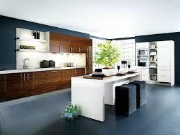 Grey Modern Kitchen Design by Kitchen Brown Wood Kitchen Cabinet White Granite Flooring White
