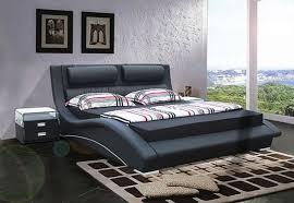 Ultra Modern Bedroom Furniture - contemporary bed design for bedroom furniture napoli black