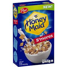 Breakfast Food Cereal Walmart Com by Post Honey Maid S U0027mores Cereal 21 Oz Walmart Com