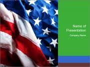 patriotic powerpoint template smiletemplates com