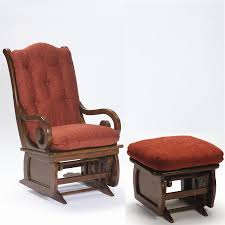 Rocking Chair With Ottoman Glider Rockers
