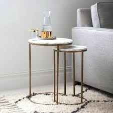Copper Side Table Bedside Table Round Copper Side Table Round Modern Rustic