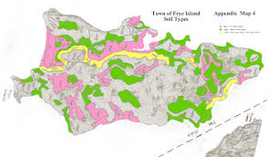 Map Of Maine Towns Frye Island