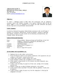 resume format for mechanical engineering students pdf resume of hse professional geology resume