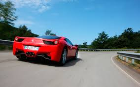 ferrary driving barrage of models coming in two years 458
