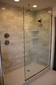 diy bathroom shower ideas doorless shower ideas doorless glass block shower doorless shower