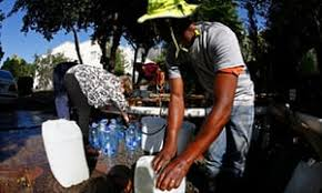 vire cape cape town told to cut water use or losing supply by 12 april