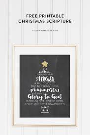 christmas tree scripture printable yellow bliss road