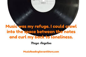 quote about music guitar what maya angelou thinks about music