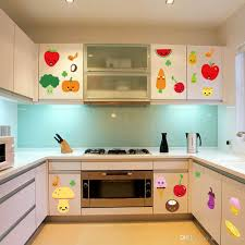 Kitchen Cabinet Decals Kitchen Awesome Kitchen Wall Decorating Ideas Pictures With Red