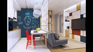 50 square meter space saving apartment layout for young family