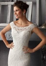 ivory lace wedding dress delicate beading on alencon lace wedding dress style 5265 morilee