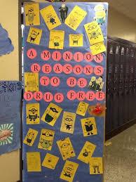 minion ribbon cooper on ribbon week door decoration a