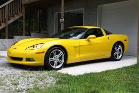 yellow corvette 2008 velocity yellow corvette for sale corvetteforum chevrolet