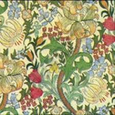 Tudor Style Wallpaper 1 24th Scale William Morris Style Wallpaper