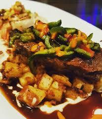 luna modern mexican kitchen corona ca mole poblano yuka cake and plantain rice yelp