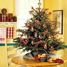 tabletop decorating ideas tabletop christmas decorations small tree ornaments miniature