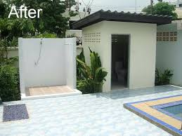 outdoor bathroom designs outdoor toilet and shower wonderful outdoor shower and bathroom