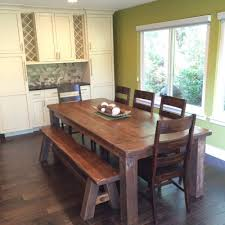farm table with bench gallery heirloom quality furniture concepts created