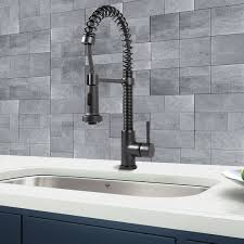 black kitchen faucets pull out spray enyila info