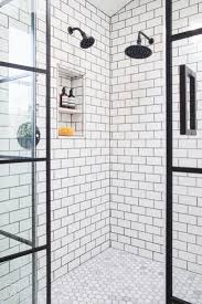 318 best future bathroom images on pinterest bathroom ideas las palmas decorative tile white and black bathroom steel and glass shower doors dream bathroom subway tile