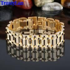 mens jewelry bracelet images Trustylan golden bracelet men aliexpress luxury best friends men jpg