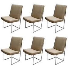 Dining Room Armchairs Milo Baughman Dining Room Chairs 98 For Sale At 1stdibs