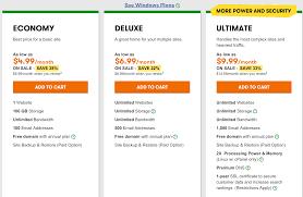 1 u00261 hosting vs godaddy web hosting comparison my experience