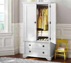 childrens armoires fiona armoire pottery barn kids
