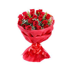 red roses bouquet on kubipet com