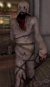 mirrors bathroom scene what are the most grotesque and horrific looking creatures in games