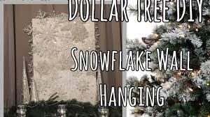 dollar tree christmas diy large snowflake wall art holiday
