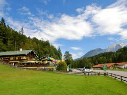 Esszimmer Berchtesgaden Speisekarte Pension Gasthof Gebirgshausl Deutschland Bischofswiesen