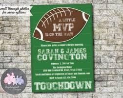 football baby shower football baby shower invitations marialonghi