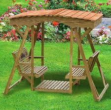 amish outdoor swing u0026 roof wooden swing outdoor glider swing seat