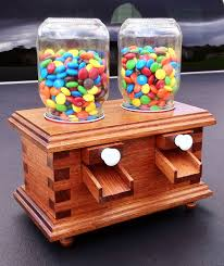 dyi candy dispenser kid friendly wood project boys unplugged